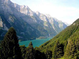 La Ferme du Lac Vert, Morzine- lake